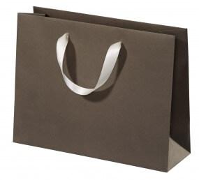 Luxe tas met zijden lint