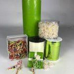 inpakset groen